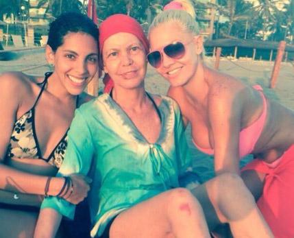 Paola Duarte y su mamá
