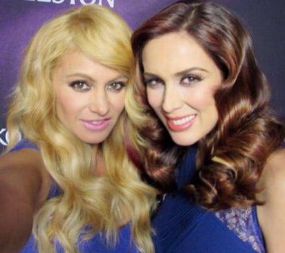Jacky Bracamontes y Paulina Rubio imagen de tinte para el cabello