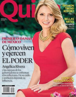 Revista Quién Angélica Rivera