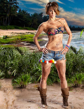 Regina Murguia en La Isla
