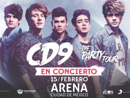 CD9 en Arena Ciudad de México