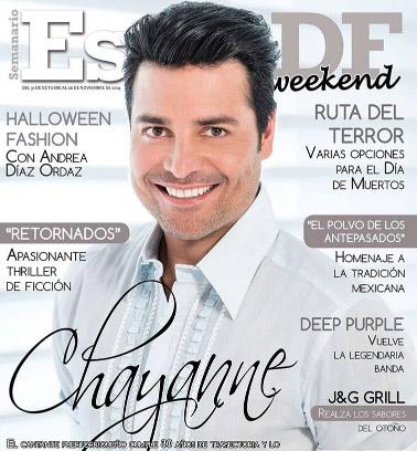 Chayanne en revista Estilo DF