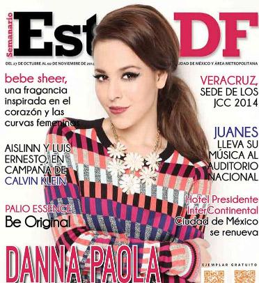 Danna Paola en revista Estilo DF