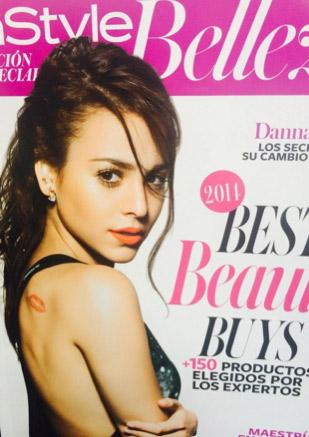Danna Paola en revista InStyle