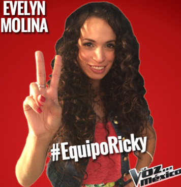 Evelyn Molina en La Voz México