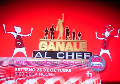 Ganale al chef de Tv Azteca