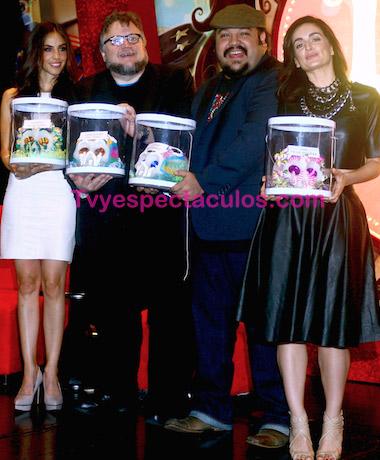Guillermo del Toro y Ana de la Reguera