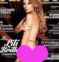 Lili Brillanti en Playboy octubre