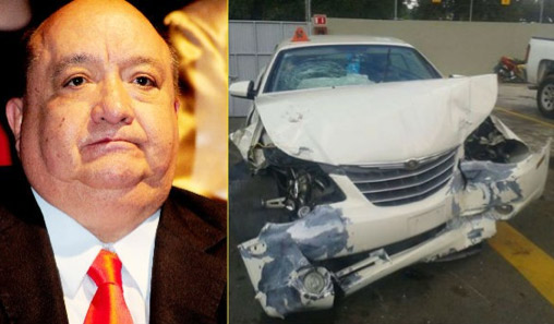Accidente de Luis de Alba
