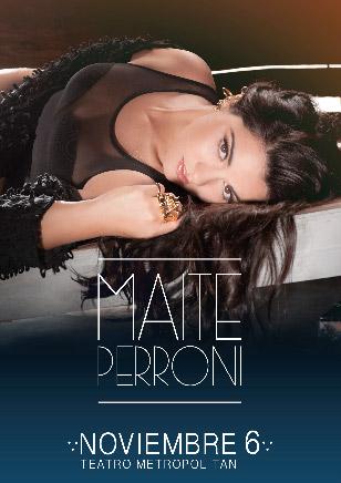 Maite Perroni en Teatro Metropolitan