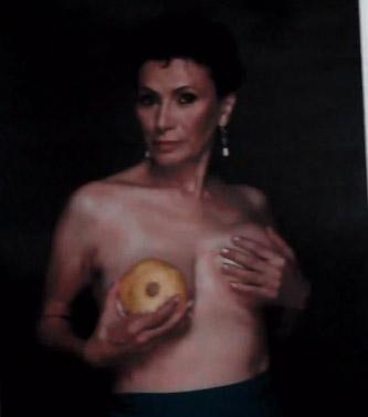 Patricia Reyes Spindola campaña contra cáncer de mama