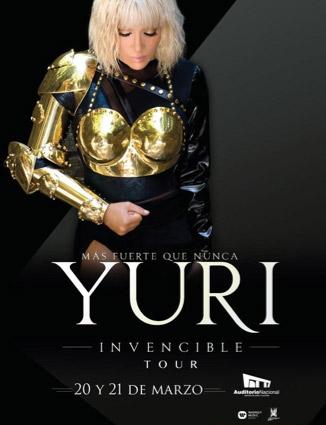 Yuri en Auditorio Nacional