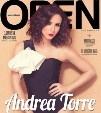 Andrea Torre en revista Open