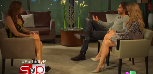 Sebastian Rulli y Angelique Boyer hablan de su relación