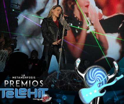 Belinda en premios Telehit 2014
