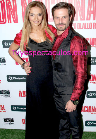 Cecilia Galliano y Mark Tacher regresaron