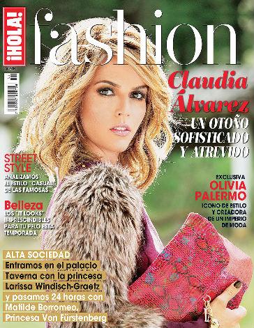 Claudia Álvarez en Hola Fashion
