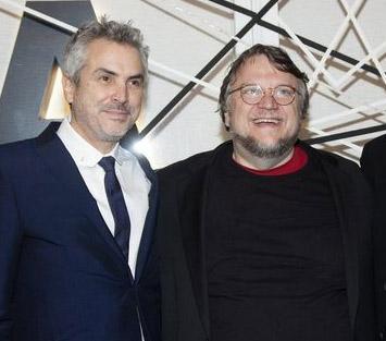 Alfonso Cuarón y Guillermo del Toro protestan por Ayotzinapa