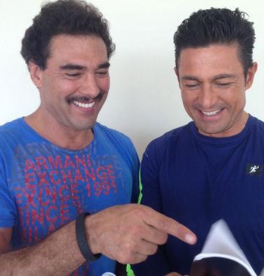 Eduardo Yañez y Fernando Colunga