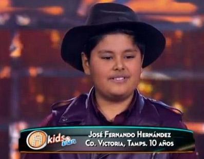 José Fernando La Academia Kids