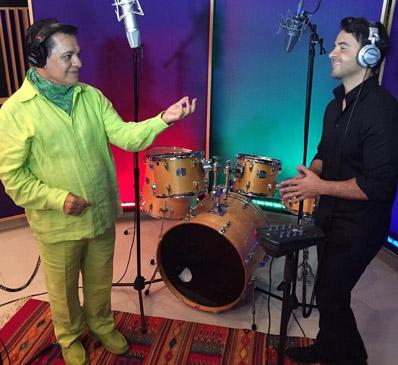 Juan Gabriel graba dueto con Luis Fonsi