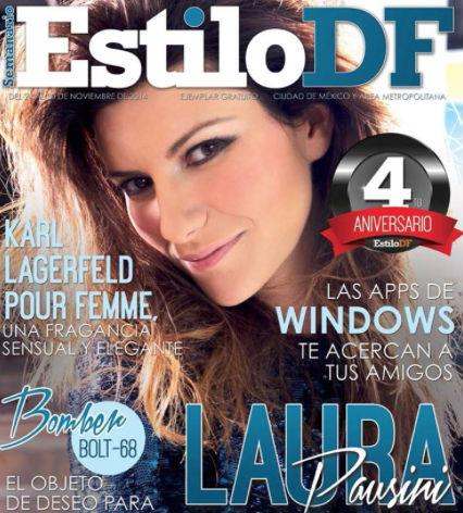 Laura Pausini en Estilo DF