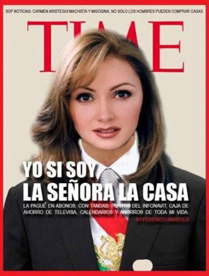 Memes de Angélica Rivera en Time