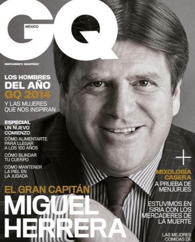 Miguel Herrera en revista GQ