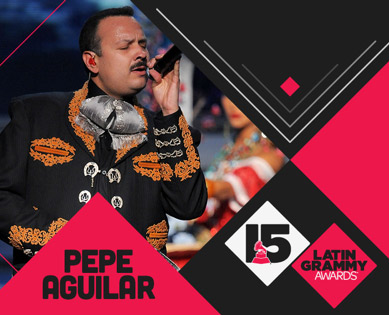 Pepe Aguilar en Premios Latin Grammy 2014