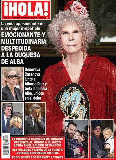 Revista Hola Adiós a la Duquesa de Alba