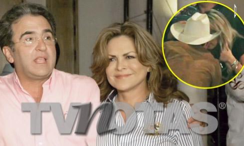 Se dice que Vicente Fernández Jr. le es infiel a Mara Patricia Castañeda