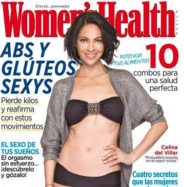 Celina del Villar en revista Women's Health