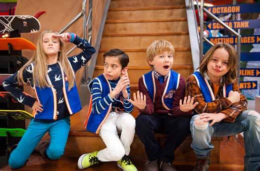 Nicky, Ricky, Dicky & Dawn Nueva serie de Nickelodeon