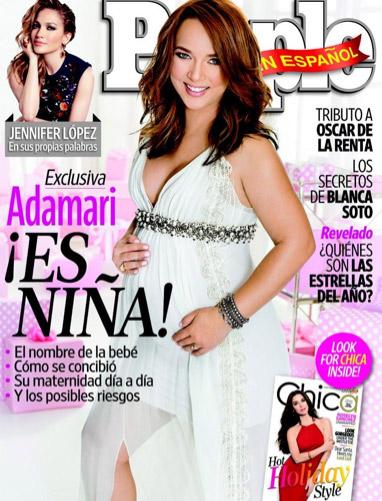Adamari Lopez espera una niña