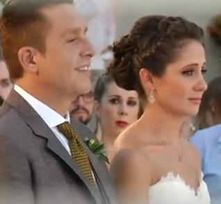Daniel Bisogno en su boda