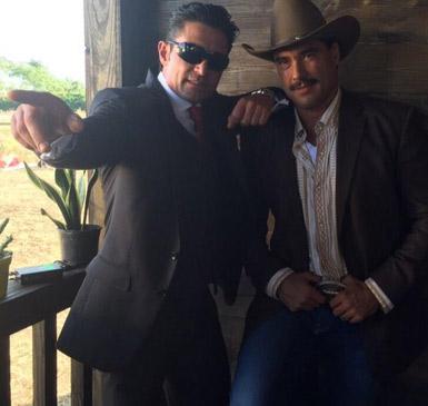 Eduardo Yánez y Fernando Colunga