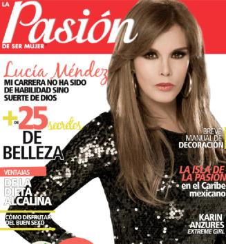 Lucía Méndez en revista Pasión