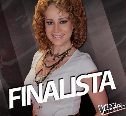 Natalia Finalista de La Voz México