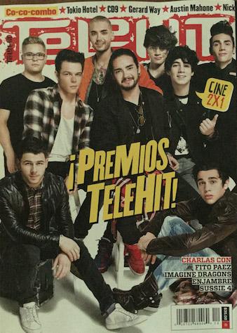 Revista Telehit de diciembre 2014