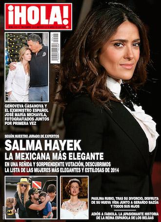 Salma Hayek en Hola