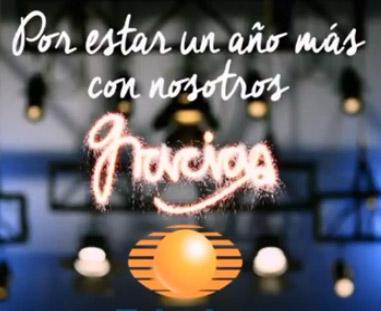 Televisa agradece al público su prefrencia en este 2014