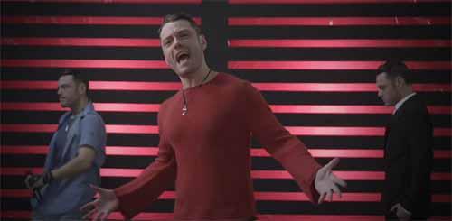 Tiziano Ferro en video No escaparé nunca más