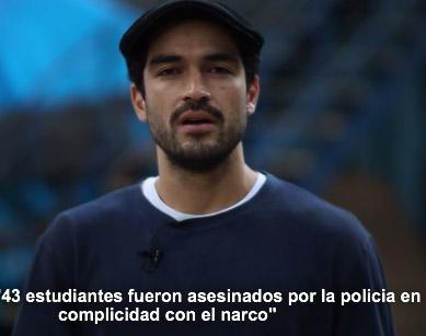 Famosos protestan en el video Qué está pasando en México
