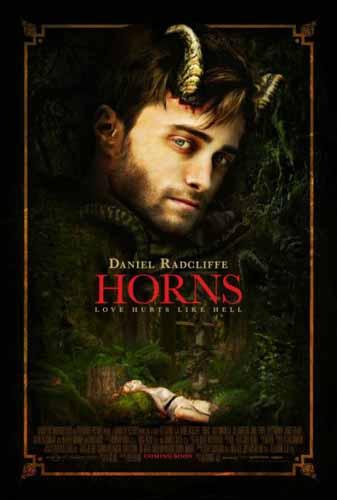 Cartel Cuernos con Daniel Radcliffe