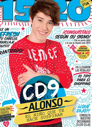 Alonso de CD9 en revista 15 a 20