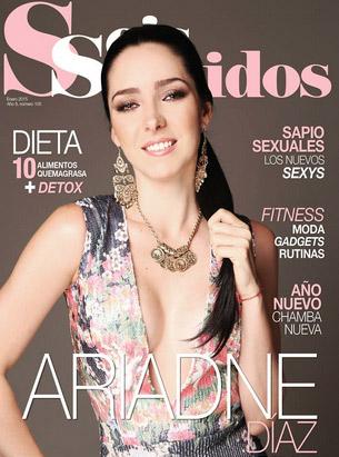 Ariadne Díaz en revista Seis Sentidos