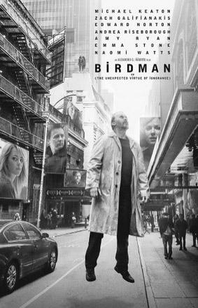 Birdman recibe nueve nominaciones al Oscar