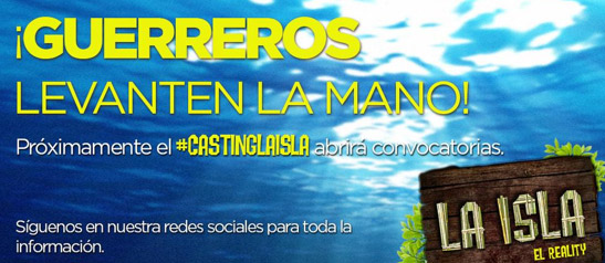 Casting para La Isla 2015
