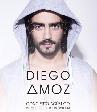 Diego Amoz en acústico