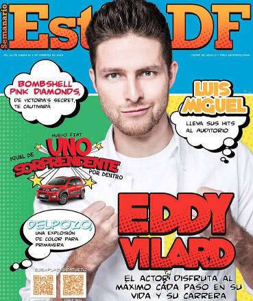 Eddy Vilard en revista Estilo DF